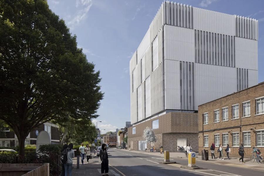 Outside elevation Herzog & de Meuron new RCA building unveiled