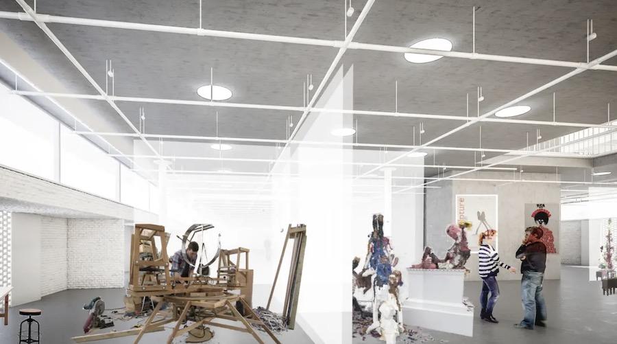 Herzog & de Meuron new RCA building unveiled