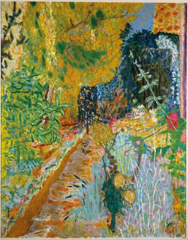 Pierre Bonnard Le Jardin 1936 Musée d'Art moderne de la Ville de Paris (Paris, France).