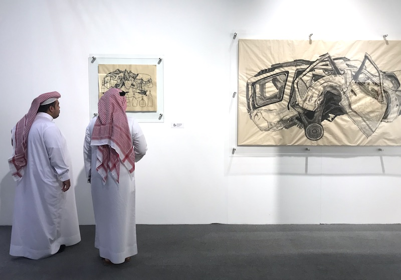 ArtBAB 2018 was a popular event for fine art in the region