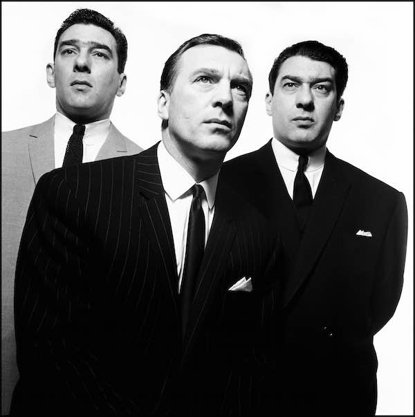 The Kray Brothers 1965 © David Bailey