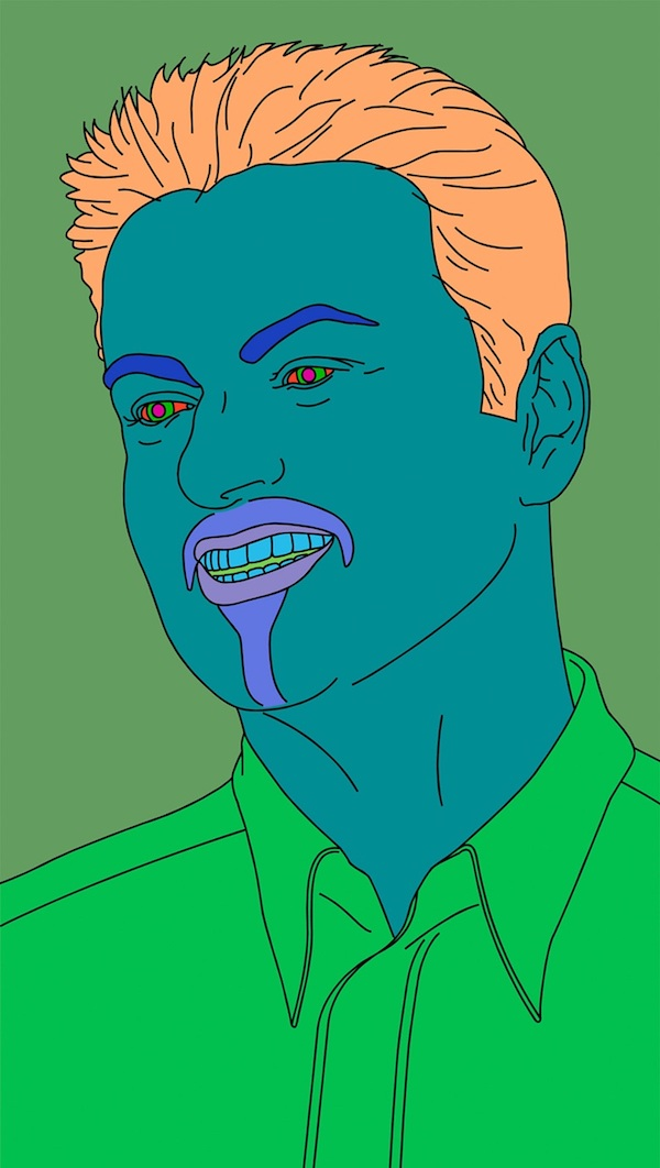 George Michael by Michael Craig-Martin