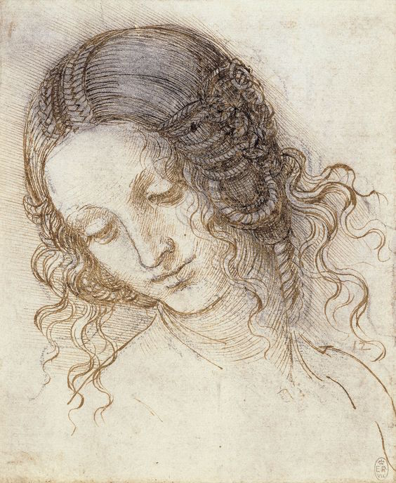 Da Vinci's head of Leda, c.1505-8, will go on display in Liverpool next year (Royal Collection)