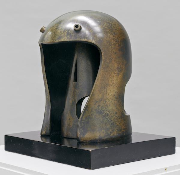Henry Moore Helmet Head No.1