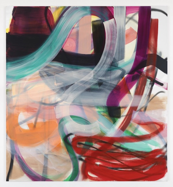 Liliane Tomasko, Untitled, 2018, Acrylic and acrylic spray on linen