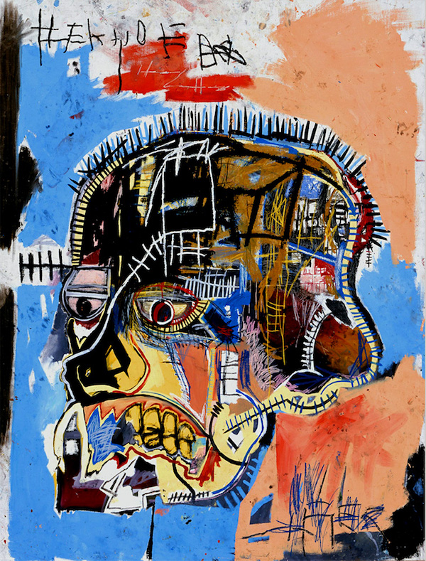 Jean Michel Basquiat's 1981 painting, Hannibal
