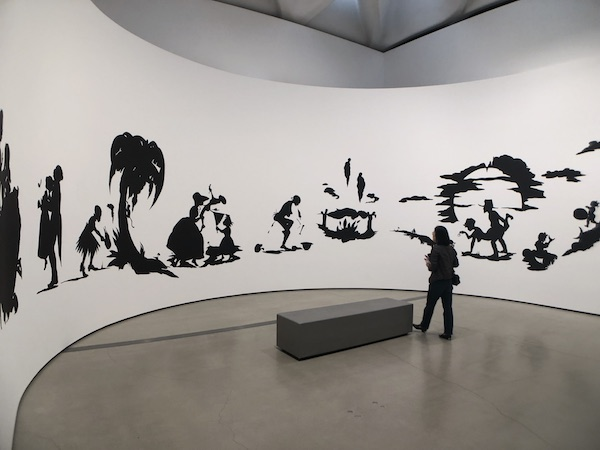 Kara Walker At The Broad in LA Photo © Artlyst 2019