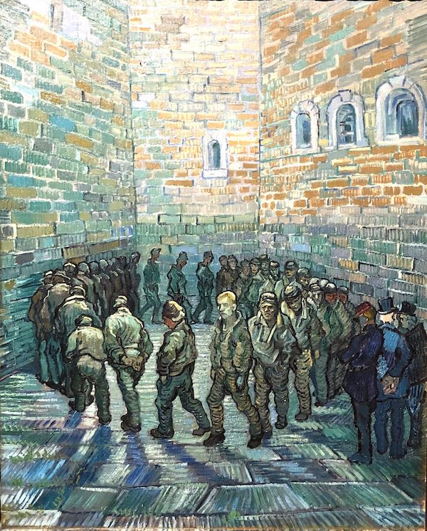 Vincent Van Gogh Newgate Prison 1872 After Gustave Dore