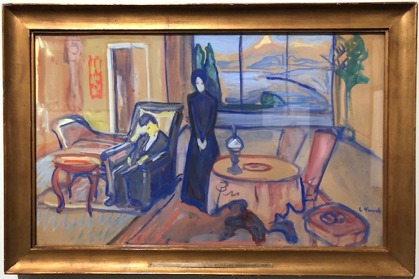 Edvard Munch Set Design For Ibsen's Ghosts 1906
