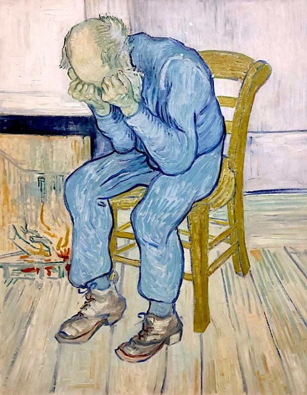 Vincent van Gogh (1853 – 1890) Sorrowing old man ('At Eternity's Gate') 1890