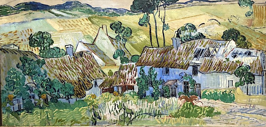 Vincent Van Gogh Farm Near Auvers 1890