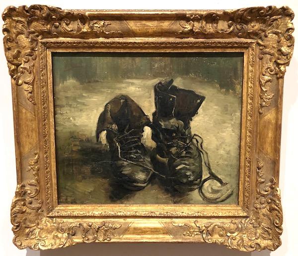 Vincent van Gogh (1853 – 1890) Shoes 1886