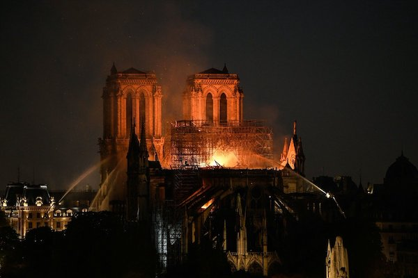 Notre Dame Paris Photo Via Twitter