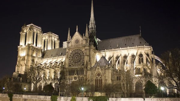 Notre Dame Cathedral Destroyed by Raging Fire
