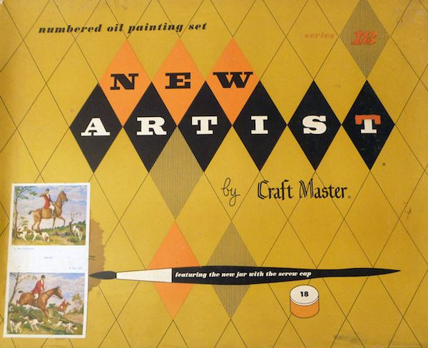 Paint By Numbers vintage kit