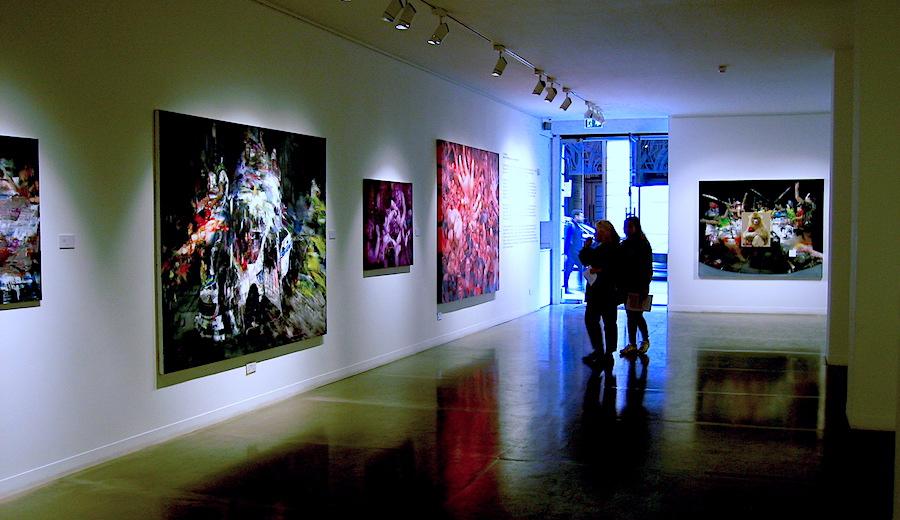 JD Malat Gallery in Davies Street exhibiting Chinese artist Li Tianbing
