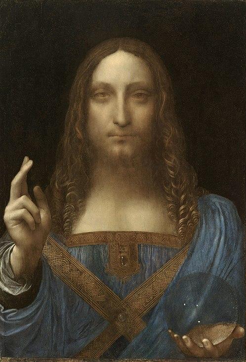 Salvator Mundi Is It By Leonardo?