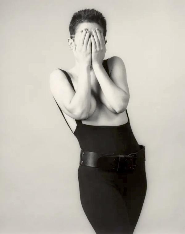 Kathy Acker, 1983, by Robert Mapplethorpe.