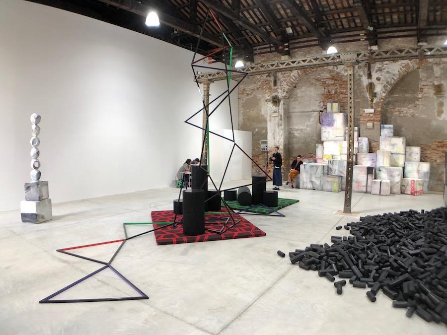 Eva Rothschild The Shrinking Universe Venice Biennale © Artlyst