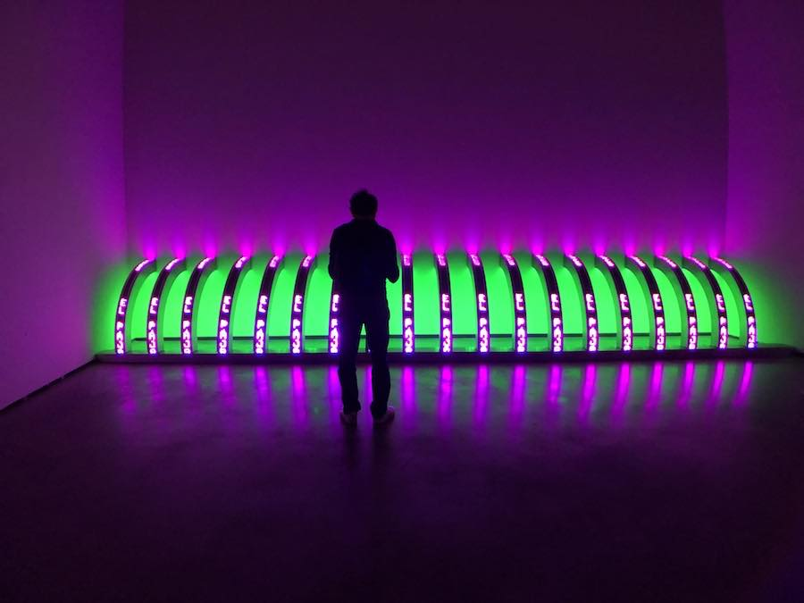 Jenny Holzer Guggenheim Bilbao Photo: P C Robinson© Artlyst 2019
