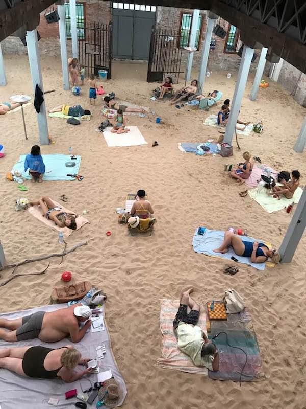 Lithuania pavilion at the Venice Biennale-