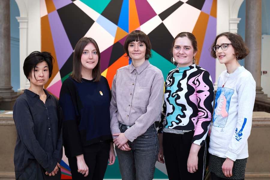 Yorkshire Sculpture International. The first meeting of the Associate Artist Group. Leeds Art Gallery