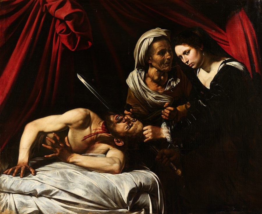Judith and Holofernes (1571-1610) is a long lost painting by Caravaggio
