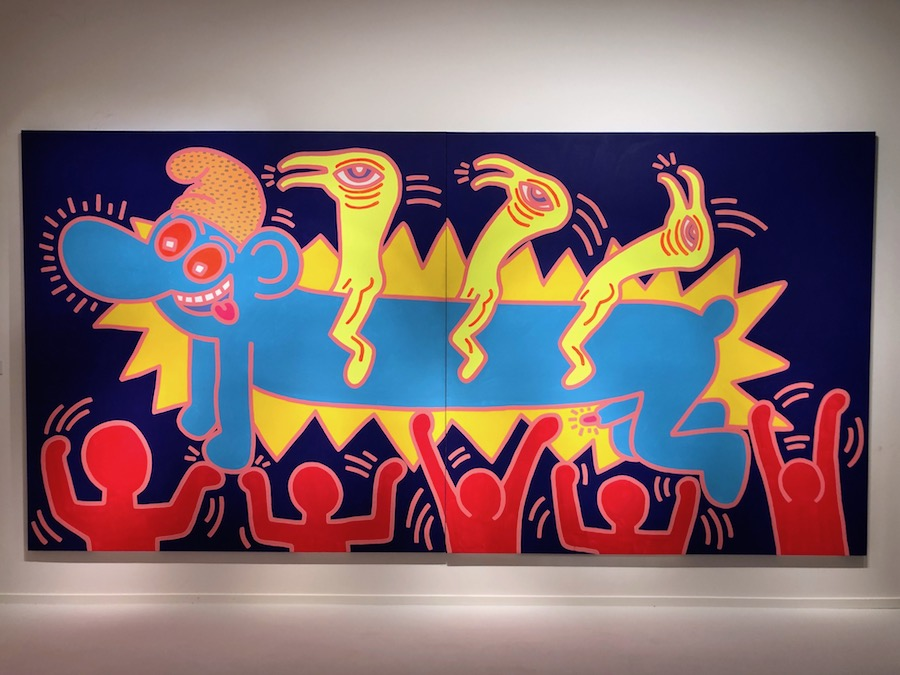Keith Haring untitled 1984 Opera Gallery Masterpiece London 2019