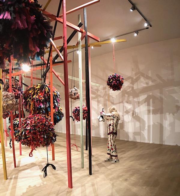Phyllida Barlow Hauser & Wirth Masterpiece London