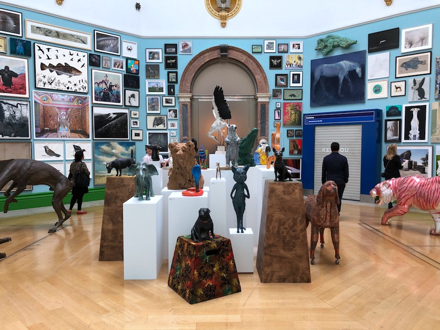 Royal Academy of Arts ,Summer Exhibition ,2019,Jock McFadyen-Artlyst©
