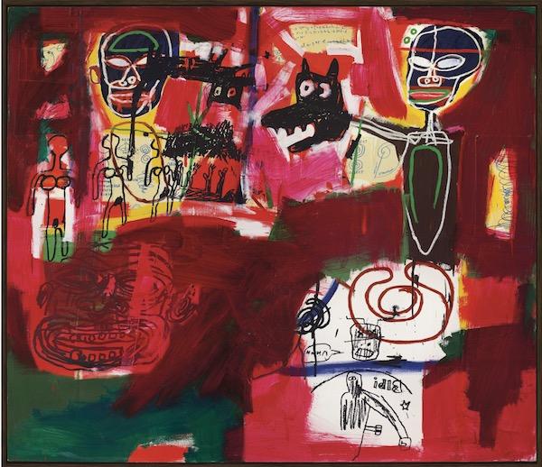 Jean-Michel Basquiat (1960-1988) Sabado por la Noche (Saturday N... Price realised GBP 8,378,250