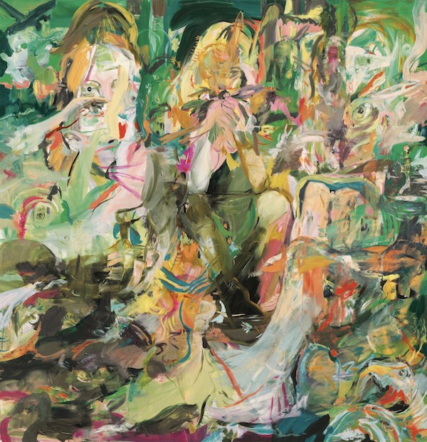 Cecily Brown (b. 1969) Blonde Eating Birds Price realised GBP 1,571,250