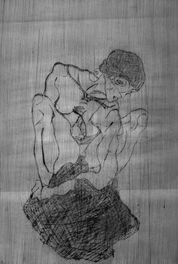 Egon Schiele's Sorrow