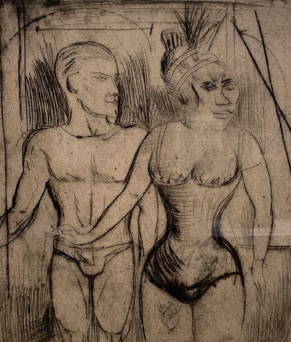 Otto Dix 'Acrobats'