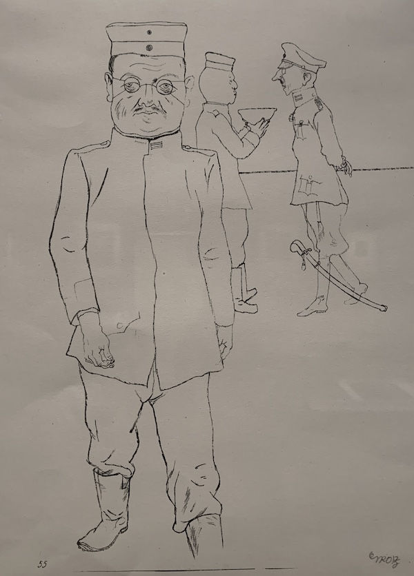 George Grosz 'Fit for Garrison Duty'