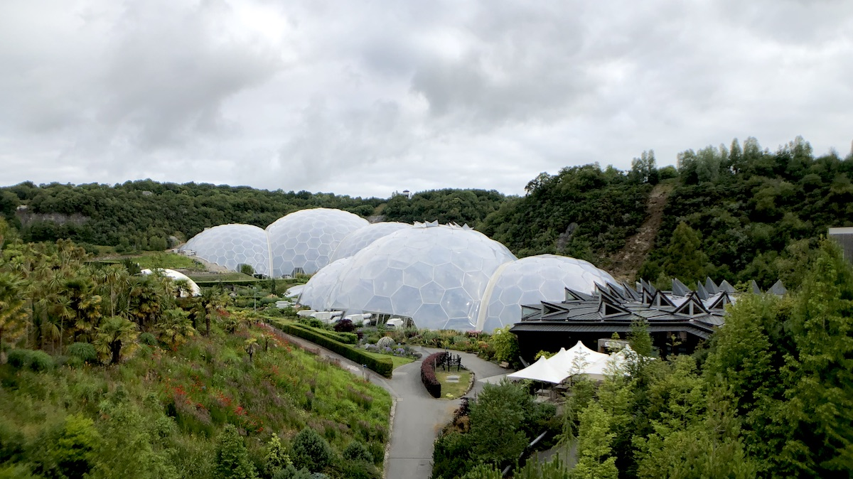 Cornwall S Eden Project A Little Known Art Collection