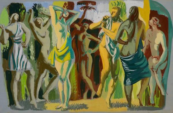 Hans Feibusch, The Dance, c1950, © Hans Feibusch estate