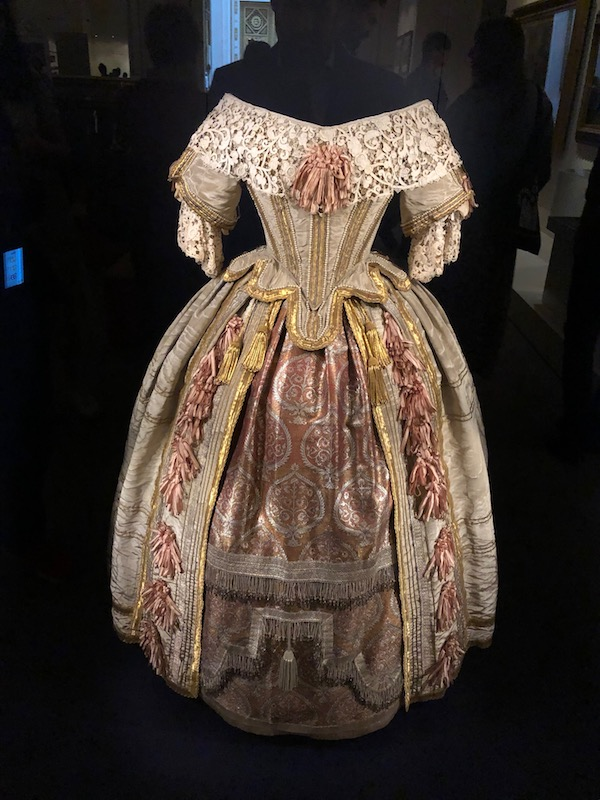 Queen Victoria's Ballgown