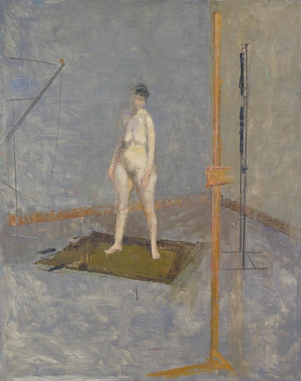 Standing Nude c.1952-3 Victor Willing 1928-1988 Purchased 1996