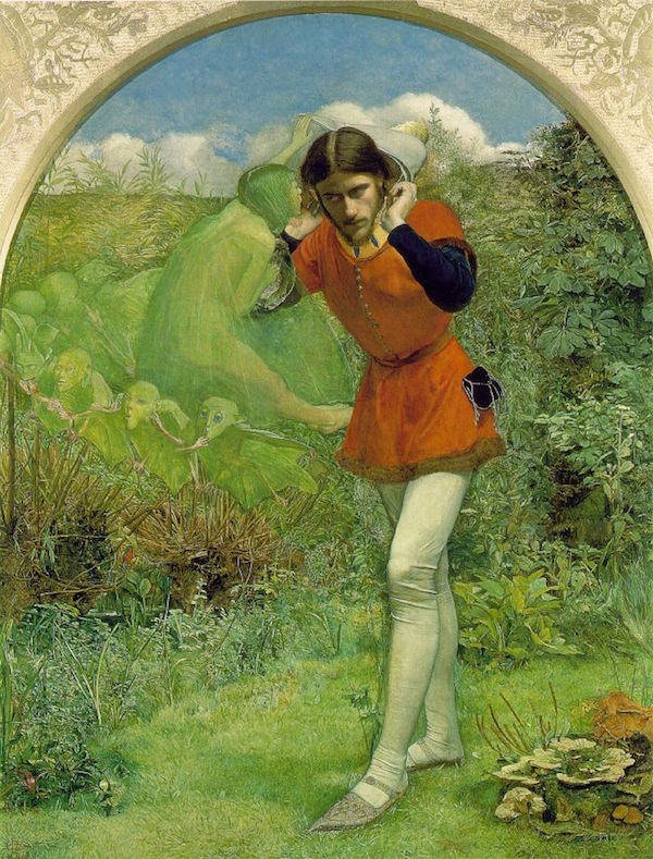 Millais' 'Ferdinand Lured by Ariel'