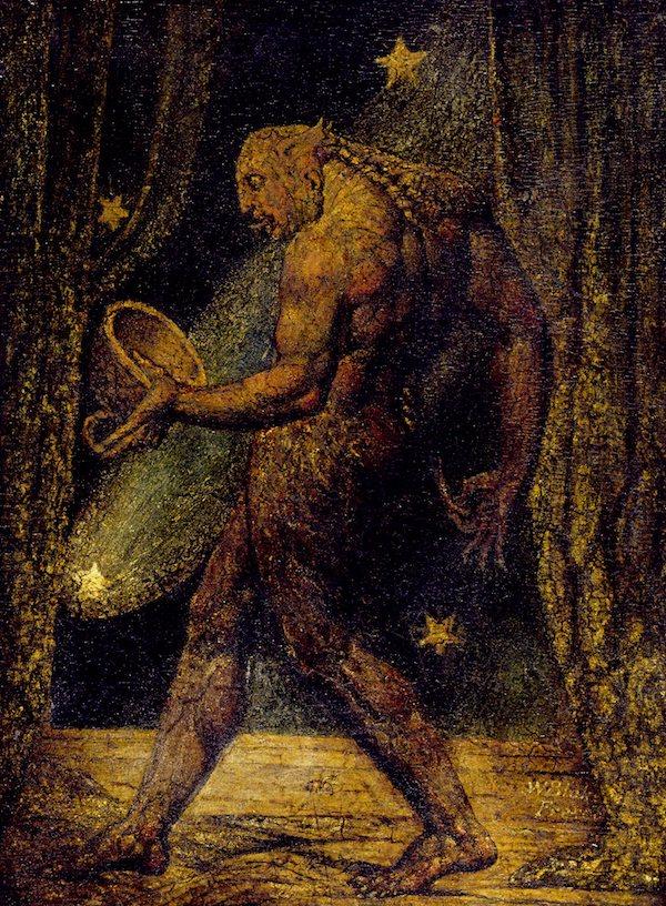 William Blake Ghost of a Flea