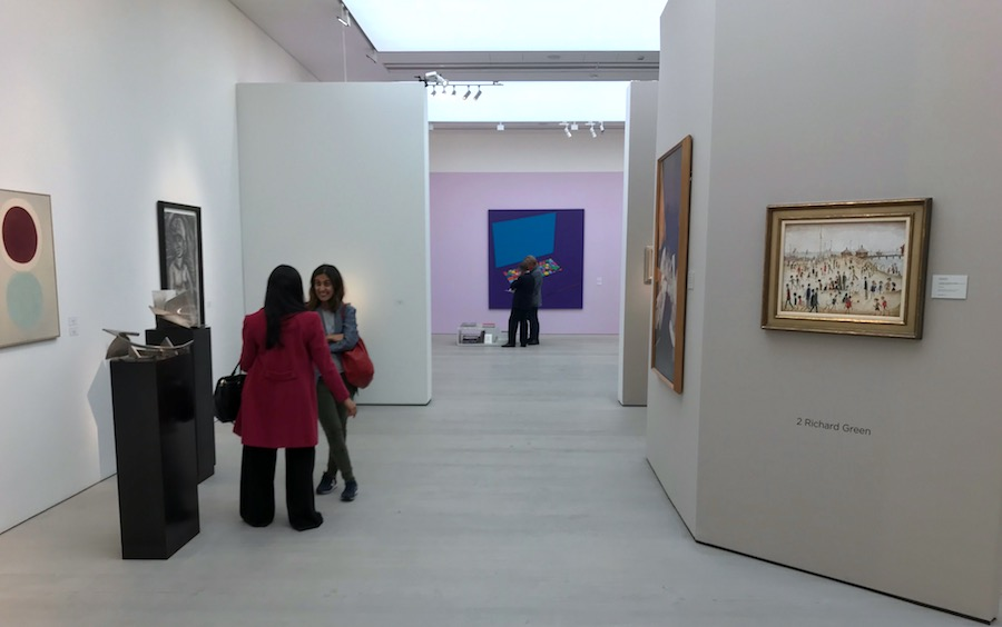 British Art Fair, Saatchi Gallery