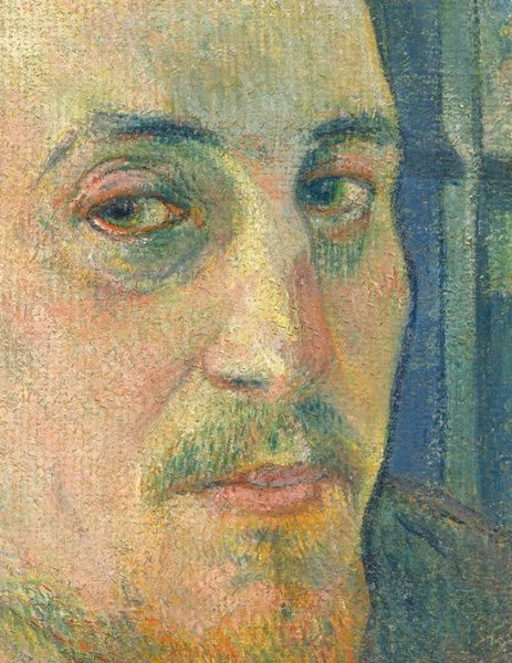 Gauguin Portrait at National Gallery