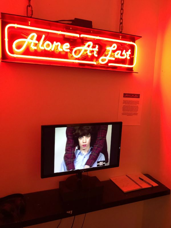 She Got Her TV Eye On Me Pat Ivers/Emily Armstrong Gonightclubbing at 72 Gallery