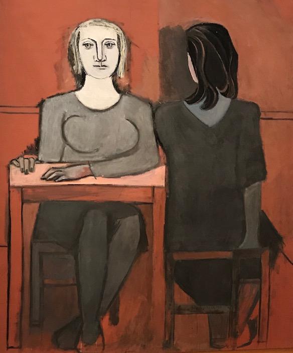 Pablo Picasso The Conversation 1937