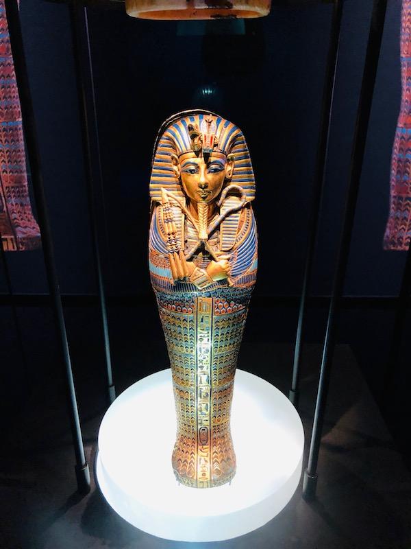 Tutankhamun Miniature Canopic Coffin