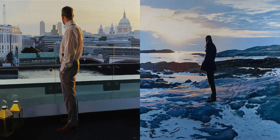 Scottish painter Iain Faulkner