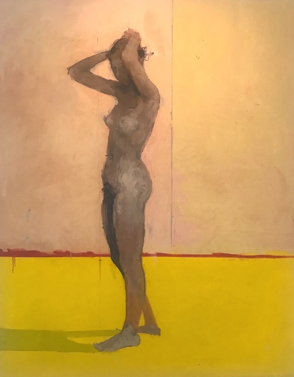 Victor Willing Standing Nude, 1955