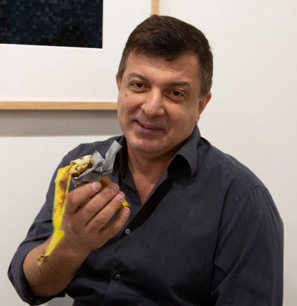 Basel Miami Banana Eater