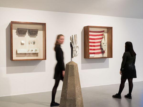 Installation view of Amalgam at Tate Liverpool